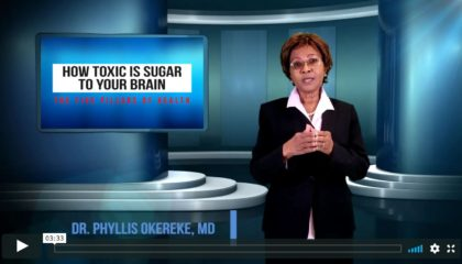 Dr. Phyllis Okereke, How Toxic Is Sugar To Your Brain